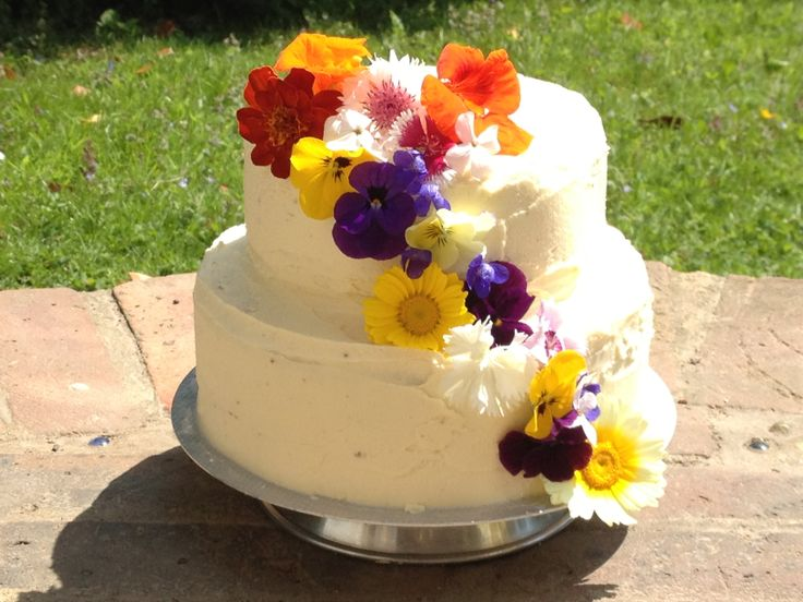 Wedding cake by The carrot cake company. Co. uk
