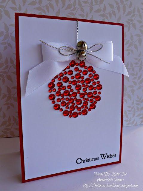 Card by Kylie Robinson (100912) tutorial http://www.youtube.com/watch?v=FxtASmJQgEY [Chilli Sprinkles]