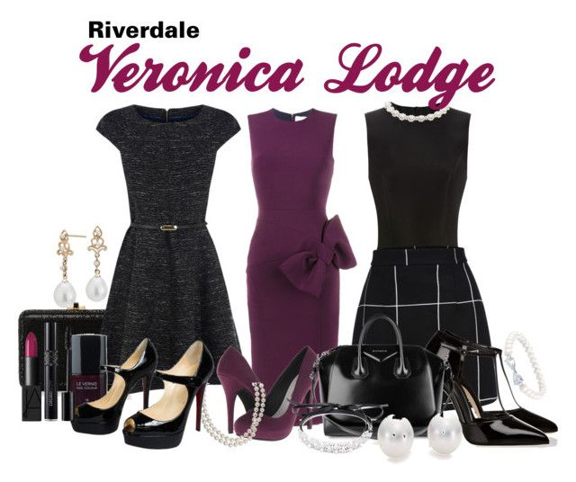 Veronica Lodge Style by sparkle1277 on Polyvore featuring polyvore and art