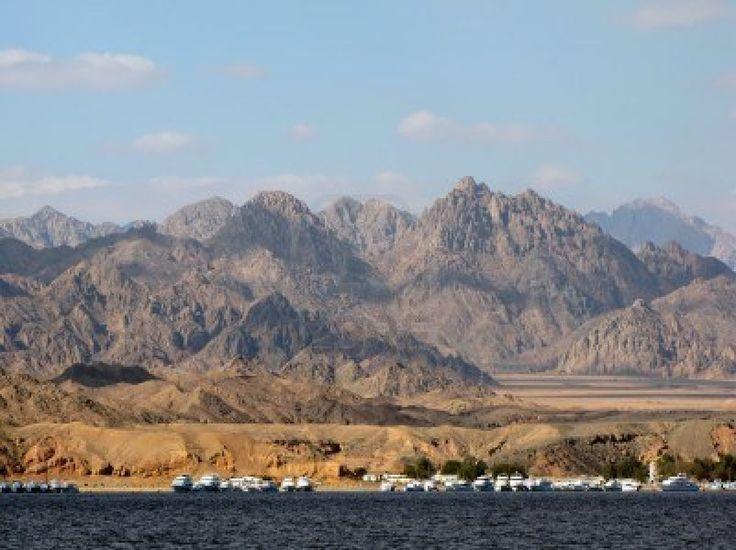 Sinai Mountains, Sharm el Sheikh.