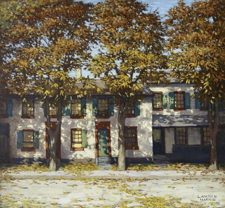 Houses, Richmond Street by Lawren Stewart Harris