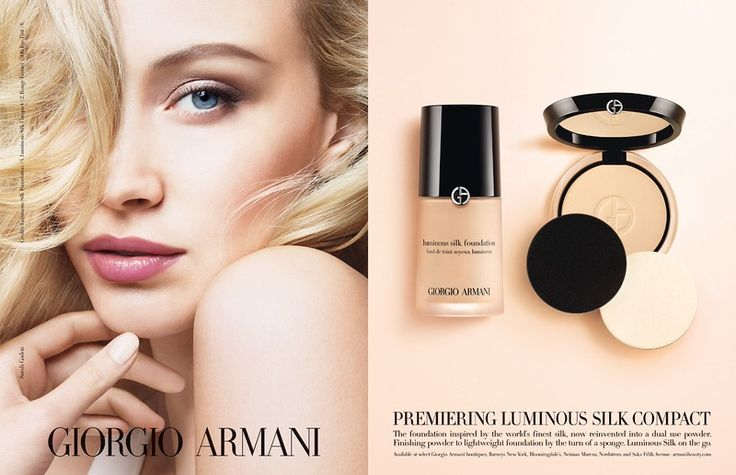 Giorgio Armani Cosmetic Advertising