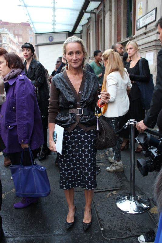 Lucinda Chambers - photo from Delinlee Delovely blog