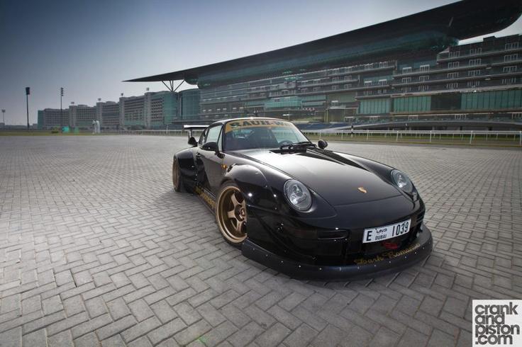 """RWB """"Dark Romantic"""" 993 911.Dreams Garages, Rwb Porsche, Cars Dreams, Porsche Rwb, 993 911, Cars Garages, Exotic Cars, Dreams Cars, Dreams Stuff"""