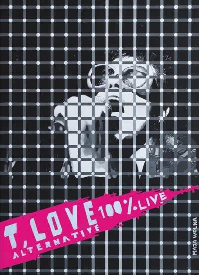 T.Love Alternative - 100% Live [DVD]  Zapis pochodzi z koncertu T.LOVE ALTERNATIVE z Października 2010 w klubie Zero w Częstochowie.  Sklep: http://www.sprecords.pl/muzyka/t-love-alternative-100-live-dvd_p_136.html  Cena:37,99 PLN