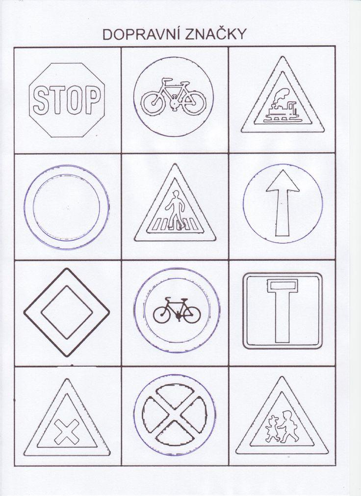 все дорожные знаки раскраска
