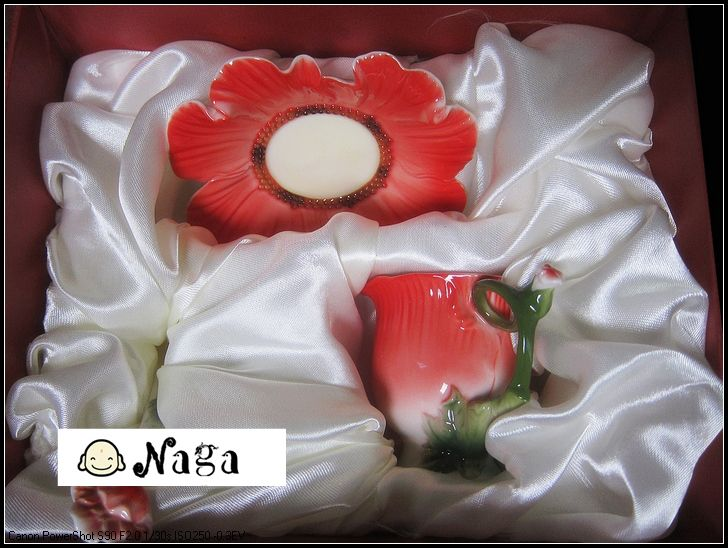 Fashion Ceramic Super Porcelain Enamel Poppy Tea Coffee Cup Wedding Birthday Gift Breakfast Colored Drawing Creative Tea Cup UK  Item FL0214 Style Chinese style Capacity 101-200ml Packing Set Occasion