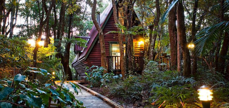 The Mouses House Retreat, 30 minutes from the Gold Coast, nestled in world heritage rainforest. Five year Anniversary?