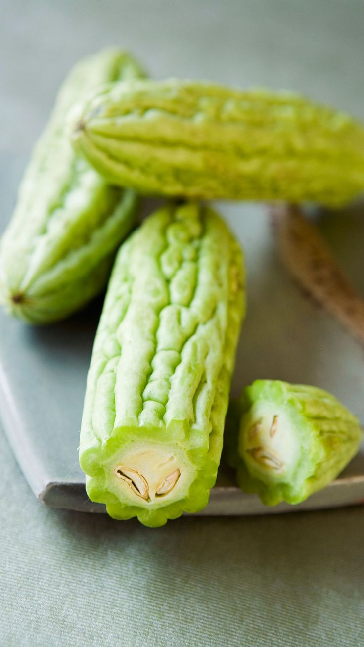 Residents of Okinawa, Japan — the city with the highest number of centenarians — as well as people in India are big fans of bitter melon, which is actually not a fruit but a type of squash, says Menzel. It's been shown to promote weight loss, and help prevent cancer, heart disease, malaria, chickenpox, and measles. But with its glucose-regulating compounds, bitter melon is most celebrated for helping to prevent and treat diabetes. Chop and fry it with diced sweet potatoes and peppers for ...