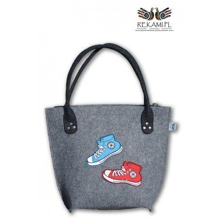Fajna torba dla nastolatek http://sklep.rekami.pl/dzieciece/76-torba-filcowa-z-tenisowkami.html