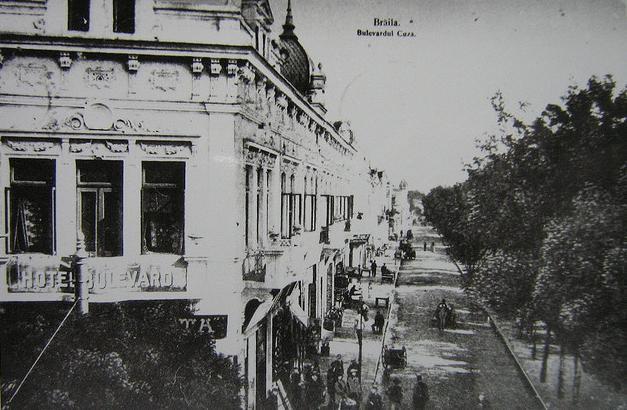 Braila - Hotel Bulevard - interbelica