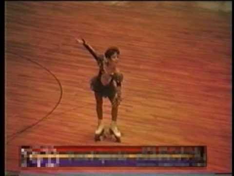 Tara Lipinski - 1991 US Artistic Roller Skating Nationals She's just as good at Roller Skating as she is at Ice Skating!!!
