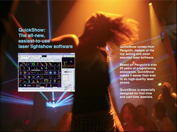 Pangolin QuickShow laser software