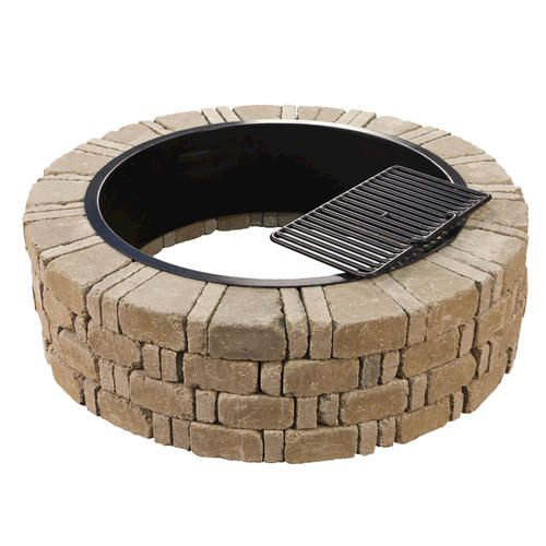 Ashwell Fire Pit Kit At Menards Fire Pits Pinterest Fire Pits The O 39 Jays And The Stick