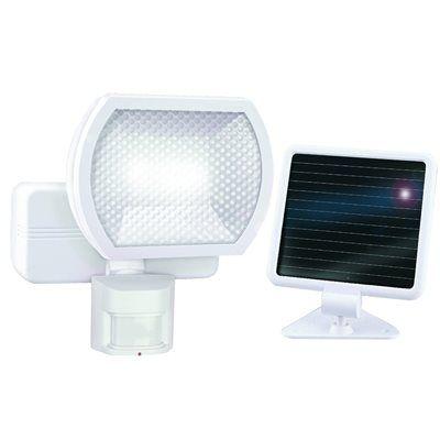 Heath Zenith 180 Degree Solar Powered Motion Activated Light