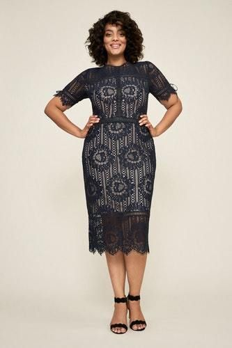 df916d918de NEW TADASHI SOJI WOMENS SUMA LACE DRESS - PLUS SIZE  fashion  clothing   shoes  accessories  womensclothing  dresses (ebay link)