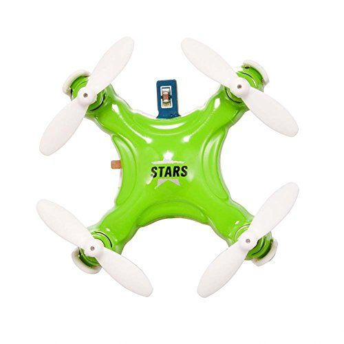 Dayan Anser Mini RC Rechargeable CX STARS 6 Axis Gyro Quadcopter Drone With Micro Pocket UFO LED Green Check This Awesome Product By Going To The Link