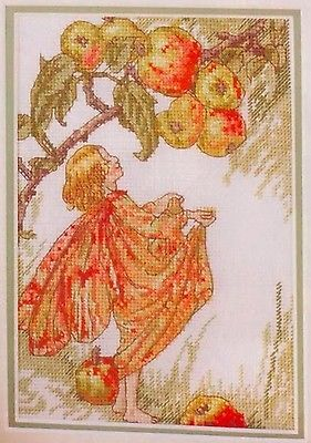 Crab Apple Fairy The World of Cross Stitching Issue 138 June 2008  Saved
