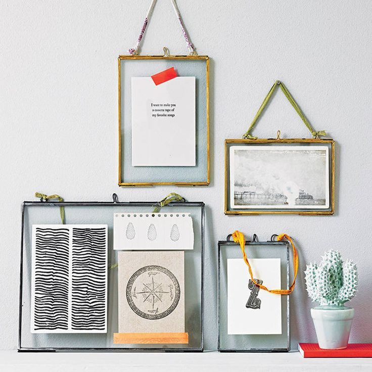 This Kiko glass photo frame is perfect for displaying photos and mementos.Brass, Zince or Copper. Landscape or portrait orientation.Create a truly personalised gift with one of these stylish glass photo frames. The glass front and back makes them not only great for photographs but also a fantastic way to display other precious keepsakes, like postcards, concert tickets and drawings. They look great grouped together in an assortment of sizes and orientations. Each photo frame is strung with a…