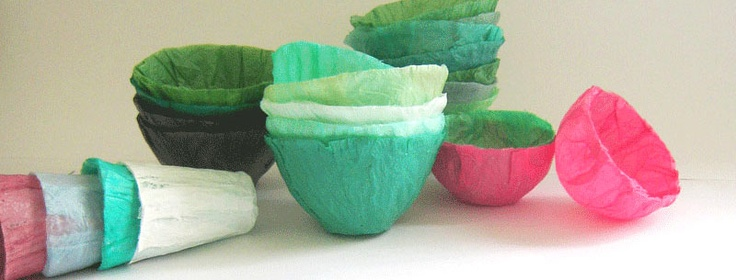vasilhas de sacolas plásticas