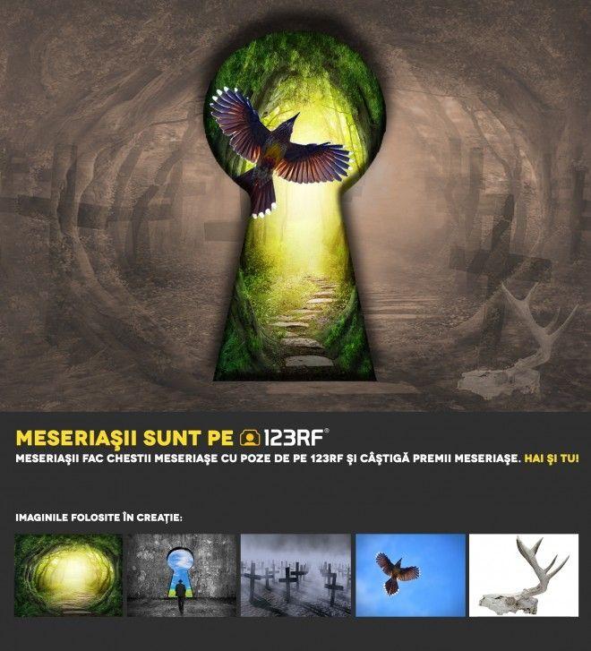 """The Key"" by Irina Bartolomeu. Meseriasii sunt pe 123RF!"
