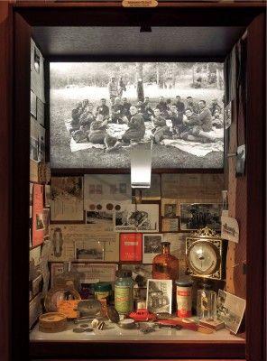 Museo dell'innocenza, vetrina Istanbul