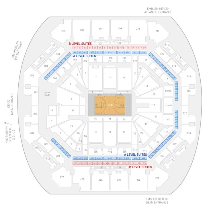 barclays center seating chart concert in 2020 | Seating ...