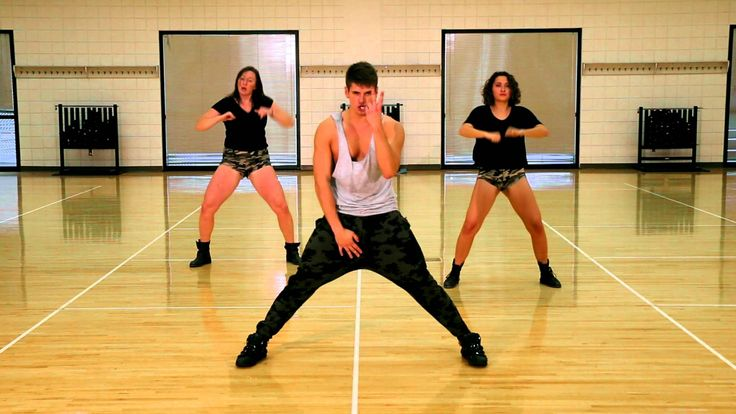 Work B**ch - The Fitness Marshall - Cardio Hip-Hop.  (He's hysterical to watch, but his workouts are awesome.)