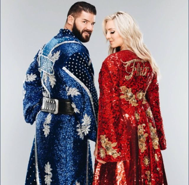 Bobby Roode and Charlotte Flair