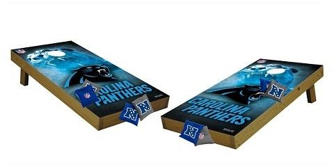 Wild Sports NFL Carolina Panthers Wild Sports Tailgate Toss Cornhole Shields