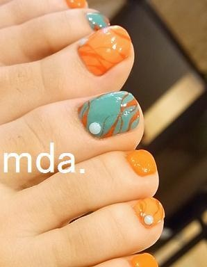 Fall toes