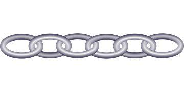 Łańcucha, Łącza, Z Tworzyw Sztucznych