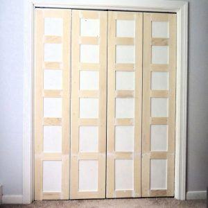 Redo Metal Closet Doors