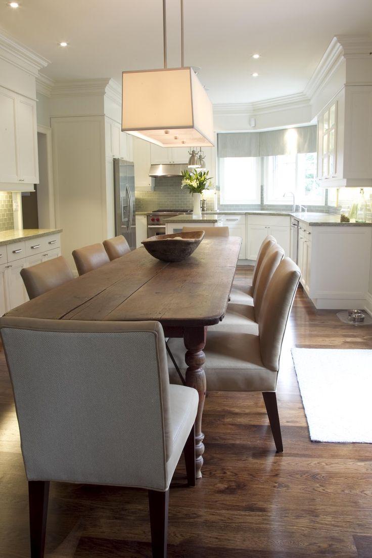 restoration hardware kitchen - Kitchen/dining mashup, get rid of wall to formal dining room?