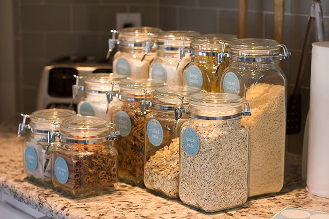 Pantry organization - small pantry