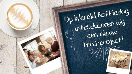 Nieuw trnd-project: Delhaize koffie!  Vandaag is het Wereld Koffiedag. Een dag waarbij er niet zomaar koffies worden uitgedeeld en tal van insta-foto's worden geupload. Het is een dag waarbij we speciale aandacht besteden aan de eerlijke koffiehandel!  http://www.trnd.com/be-nl/blog/nieuw-trnd-project-delhaize-koffie