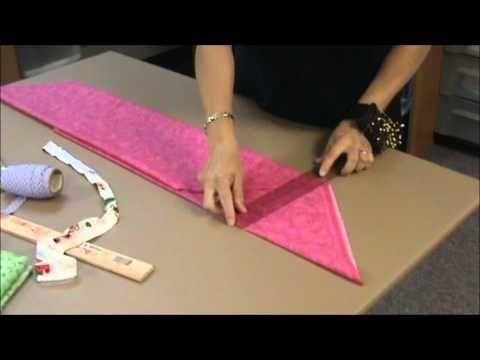 Como aprovechar la tela y cortar el bies más fácilmente (en español)