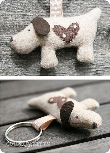 sweet dog keychain | Flickr - Photo Sharing!
