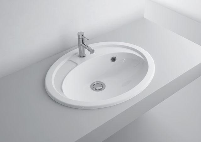 What a beautiful, simple design!  washbasin NEDFALL 425C  #marmite #marmiteSA #washbasin #lavabo #waschtisch #simpledesign #schlichtesdesign #designépuré #bathroom #bagno #baignoire #badezimmer #bathroomideas #salleDeBainDesign #DesignPerIlBagno #DesignIdeen #designideas