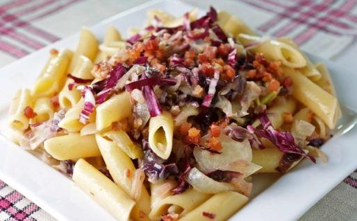 Maccheroni all'insalata trevigiana