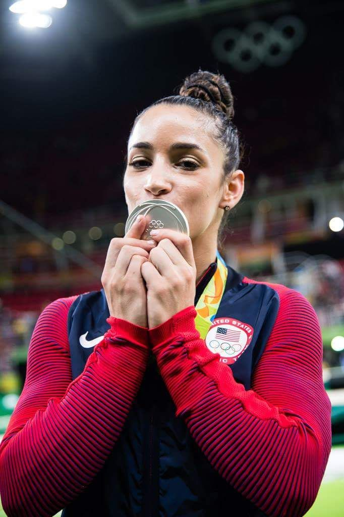Aly Raisman lived out my childhood dream of becoming an Olympic champion in gymnastics.  In hindsight, Captain of my High School team was a more realistic goal, and one that I did achieve!