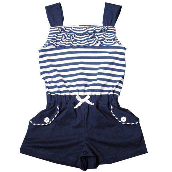 Nautical baby | Trendy Nautical Baby Playsuit | Cool & Cute Baby Clothes