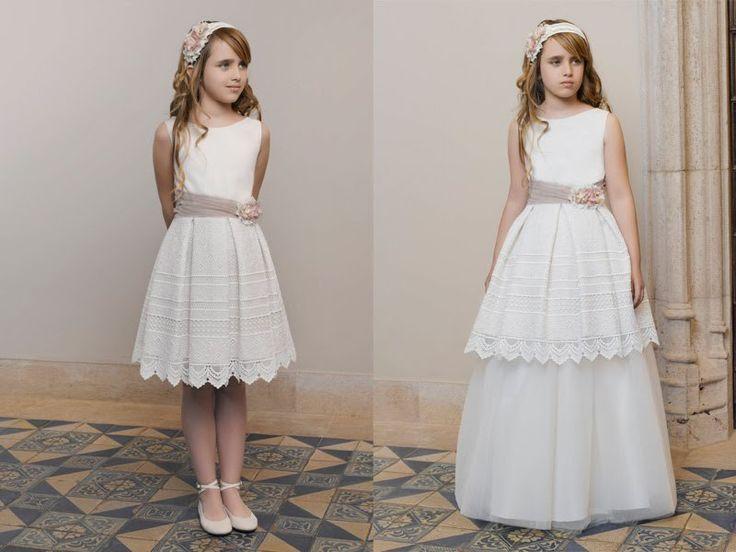 ¡Cómodos, originales y románticos! Diez vestidos cortos para hacer la comunión