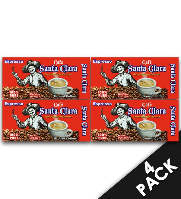 Cafe Santa Clara 9 oz (4 Pack)