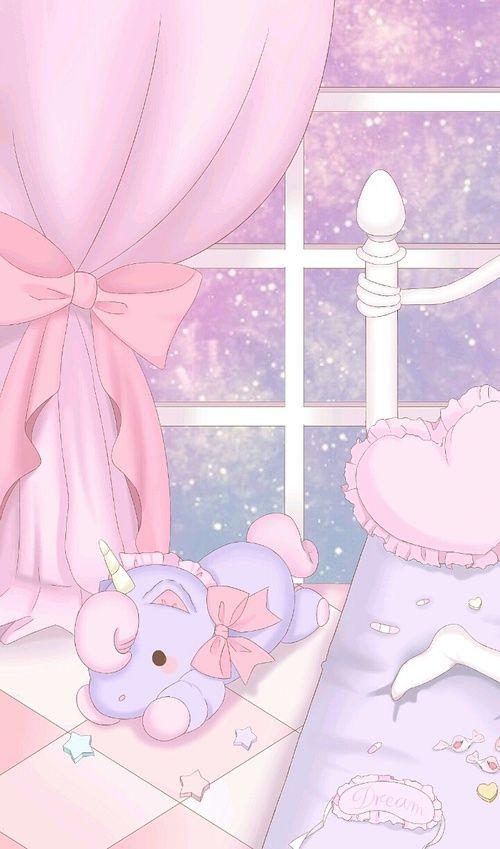 kawaii, pastel, and pink afbeelding