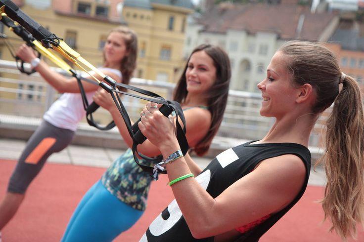Trx'training'working'trainer'wellness'happy
