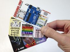 Cool Printable Electronics & Arduino Reference Cards - Electronics-Lab