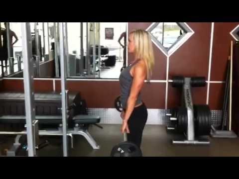 Fitness Tips For Women: Stiff Leg Deadlift For Hot Hamstrings #GetSlim with InnerTitan Build-a-Plan workouts at www.InnerTitan.com