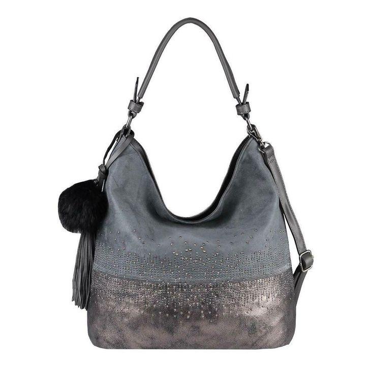 ICYMI: [Werbung] DAMEN HAND-TASCHE Hobo Shopper Nieten Schultertasche Leder Opti… – Italyshop24.com