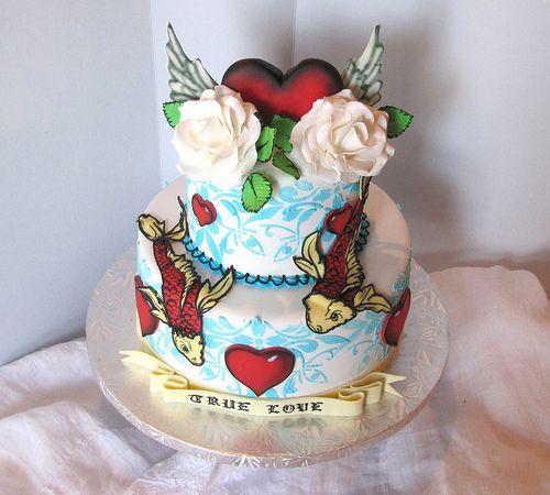 Все размеры | Татуировка Свадебный торт |! Flickr Photo Sharing